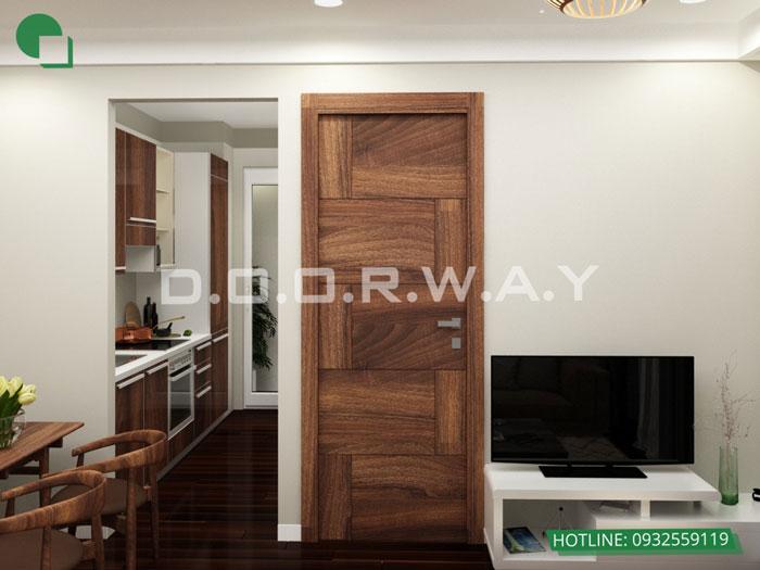 PB2- Mẫu thiết kế đơn giản cho nội thất căn hộ 74m2 Eco Dream