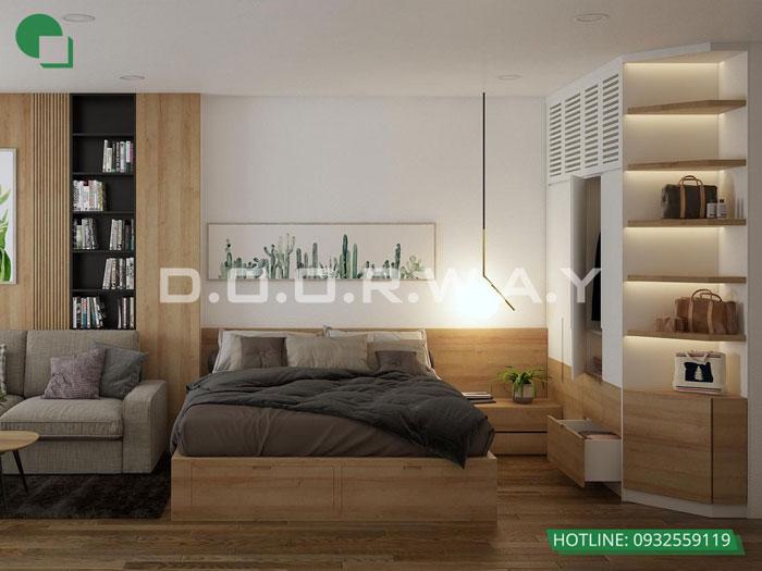 PN2(1)- [Xem ngay] Thiết kế nội thất chung cư Eco Dream đẹp nhất hiện nay