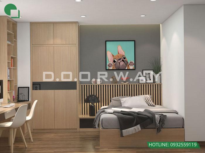 PN3(1)- [Xem ngay] Thiết kế nội thất chung cư Eco Dream đẹp nhất hiện nay
