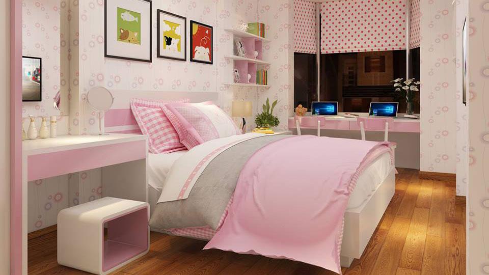 ảnh tiêu biểu - thiết kế nội thất phòng ngủ cho bé