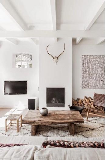 1- 100 + thiết kế nội thất nhà màu trắng sang trọng và tinh tế
