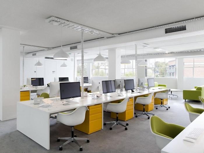 3- Những mẫu thiết kế văn phòng nhỏ hiện đại và ấn tượng