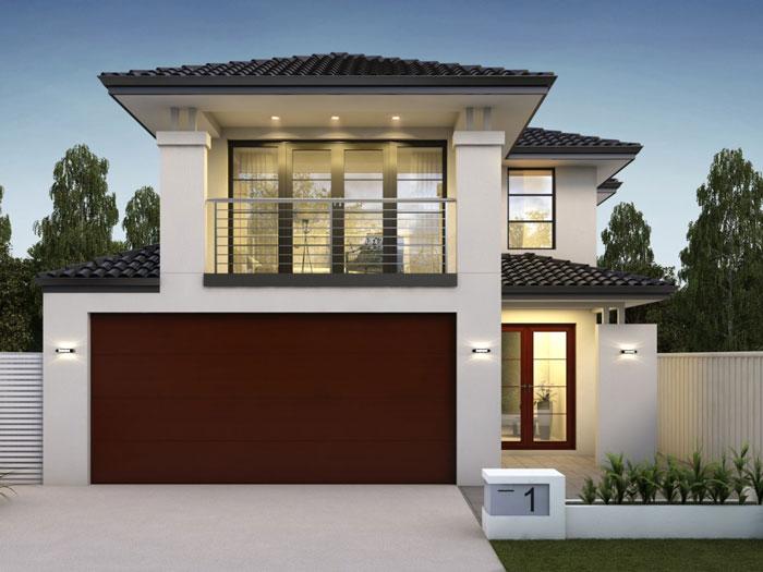 3- Tuyển tập 11 mẫu thiết kế biệt thự mặt tiền 8m mái thái, mái bằng
