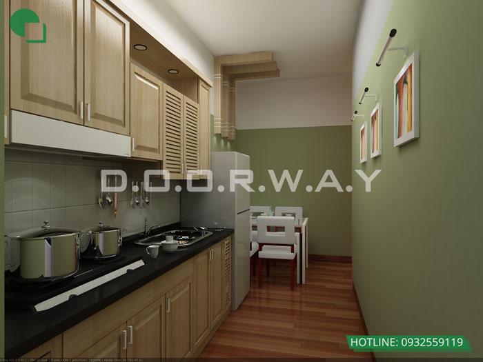 3- Đơn giản khi chọn thiết kế nội thất nhà bếp nhỏ đẹp hiện đại