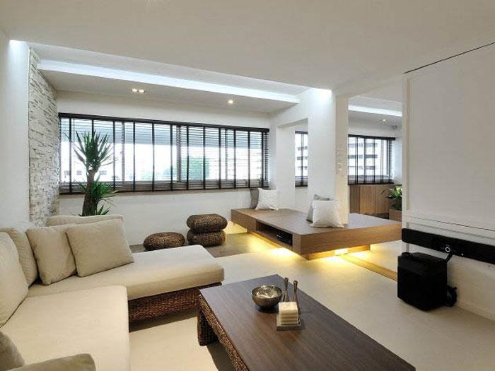 4-nội thất chung cư tối giản