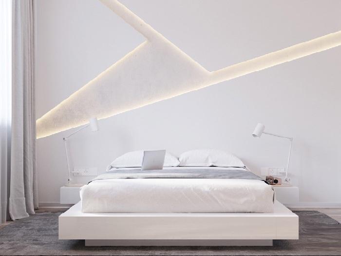 4- 100 + thiết kế nội thất nhà màu trắng sang trọng và tinh tế