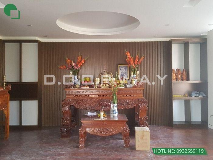 4- Những mẫu thiết kế bàn thờ cho căn hộ chung cư chuẩn kích thước