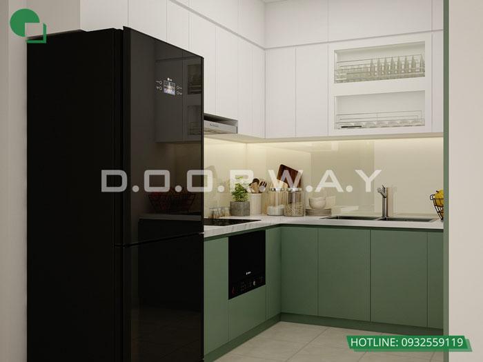 5- Đơn giản khi chọn thiết kế nội thất nhà bếp nhỏ đẹp hiện đại
