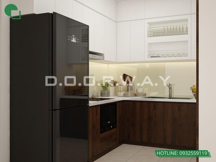 5a- Đơn giản khi chọn thiết kế nội thất nhà bếp nhỏ đẹp hiện đại