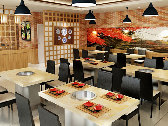 6-thiết kế nhà hàng đơn giản