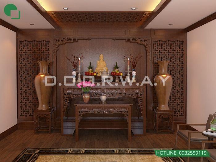 7- Những mẫu thiết kế bàn thờ cho căn hộ chung cư chuẩn kích thước