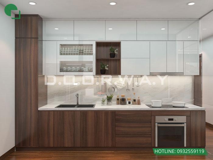 7- Đơn giản khi chọn thiết kế nội thất nhà bếp nhỏ đẹp hiện đại