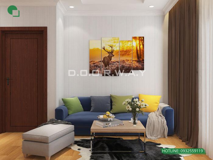 7-thiết kế phòng khách nhà phố 4m