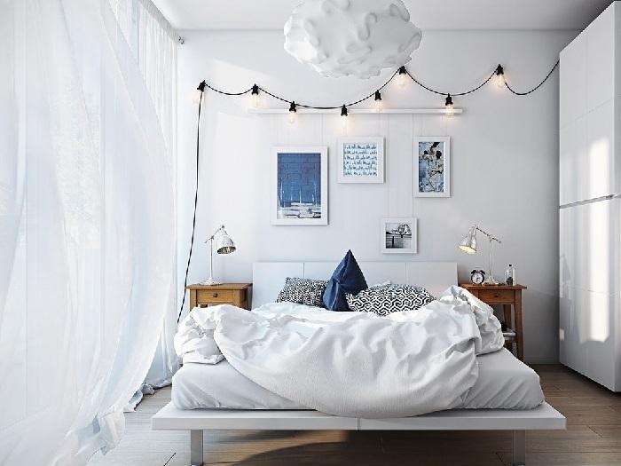 8- 100 + thiết kế nội thất nhà màu trắng sang trọng và tinh tế