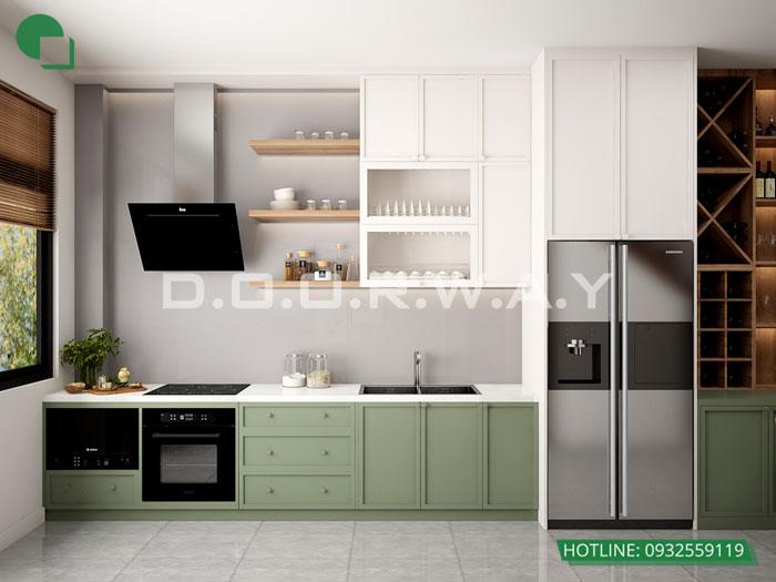8- Đơn giản khi chọn thiết kế nội thất nhà bếp nhỏ đẹp hiện đại