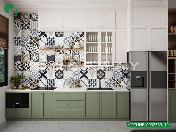 8a- Đơn giản khi chọn thiết kế nội thất nhà bếp nhỏ đẹp hiện đại