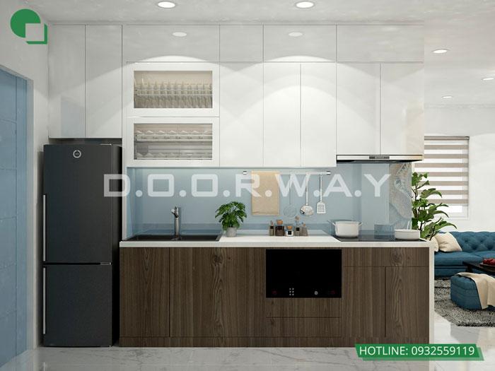 9- Đơn giản khi chọn thiết kế nội thất nhà bếp nhỏ đẹp hiện đại