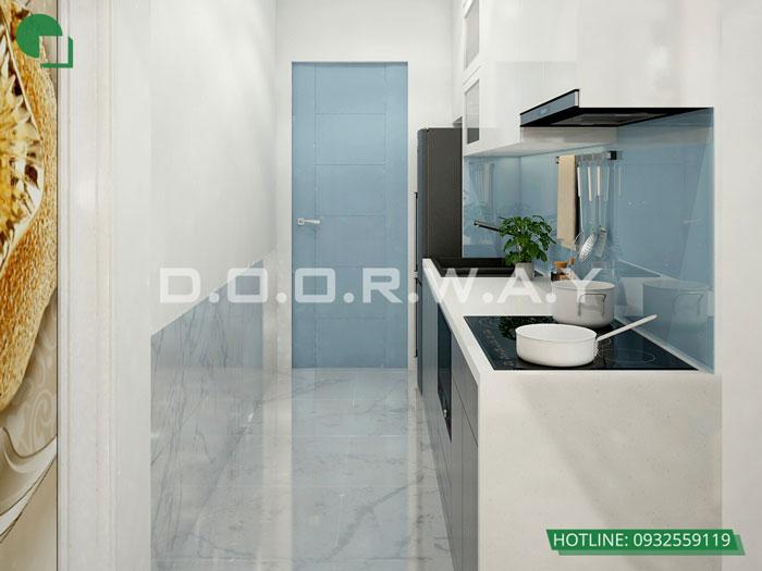 9a- Đơn giản khi chọn thiết kế nội thất nhà bếp nhỏ đẹp hiện đại