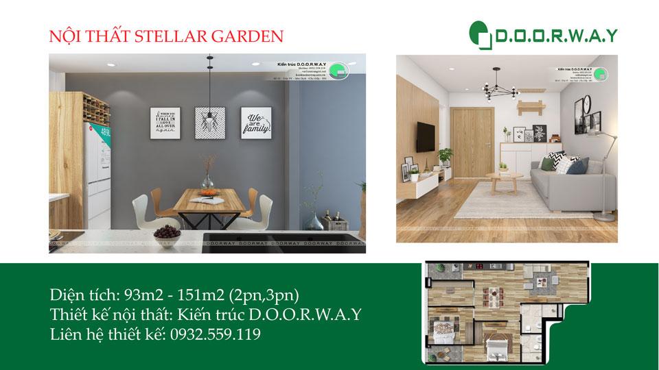 Anhtieubieu- Gợi ý thiết kế nội thất chung cư Stellar Garden đẹp cho năm 2019