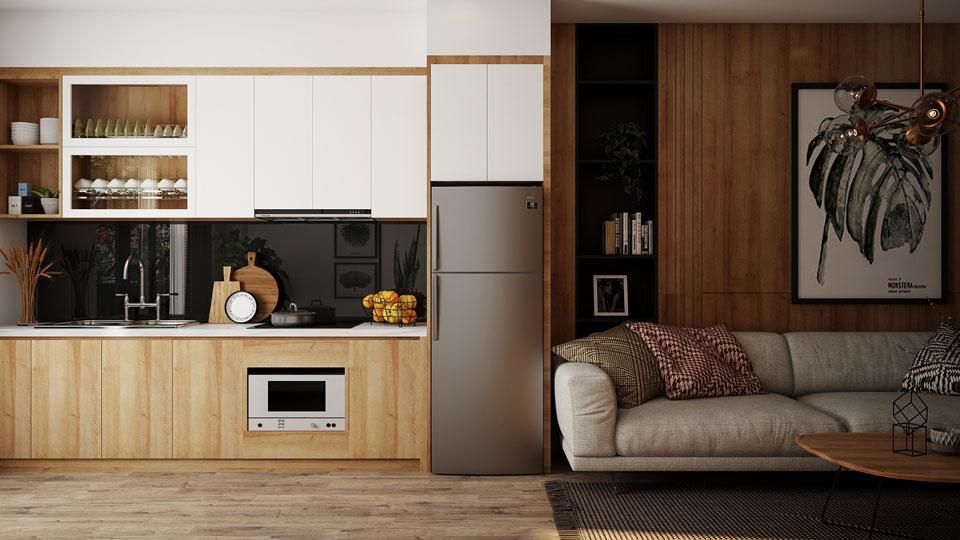 Ảnh tiêu biểu- Đơn giản khi chọn thiết kế nội thất nhà bếp nhỏ đẹp hiện đại