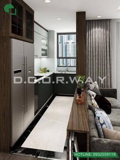 PB1- [Full] Thiết kế nội thất căn hộ 98m2 Eco Dream - a Thượng