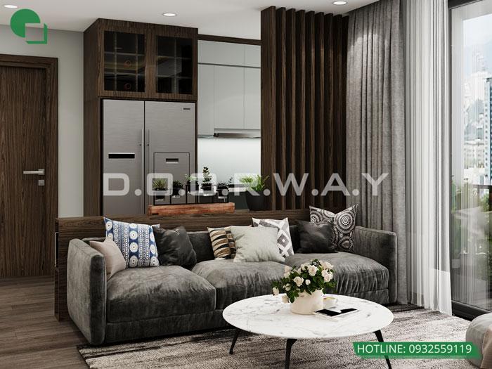 PK1- [Full] Thiết kế nội thất căn hộ 98m2 Eco Dream - a Thượng