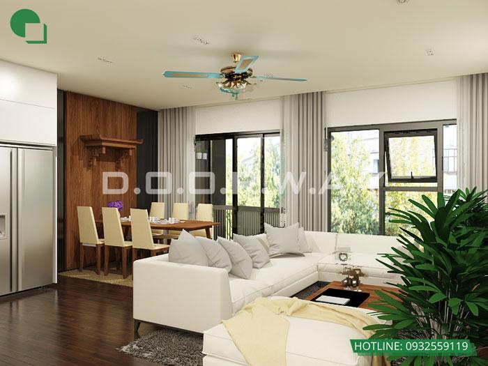 PKB1- Nội thất căn 2 phòng ngủ The Zen Residence năm 2019 - 2020
