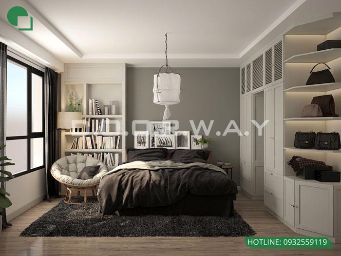 PN1(1)- [Xem ngay] Thiết kế nội thất chung cư The Zen Residence Gamuda