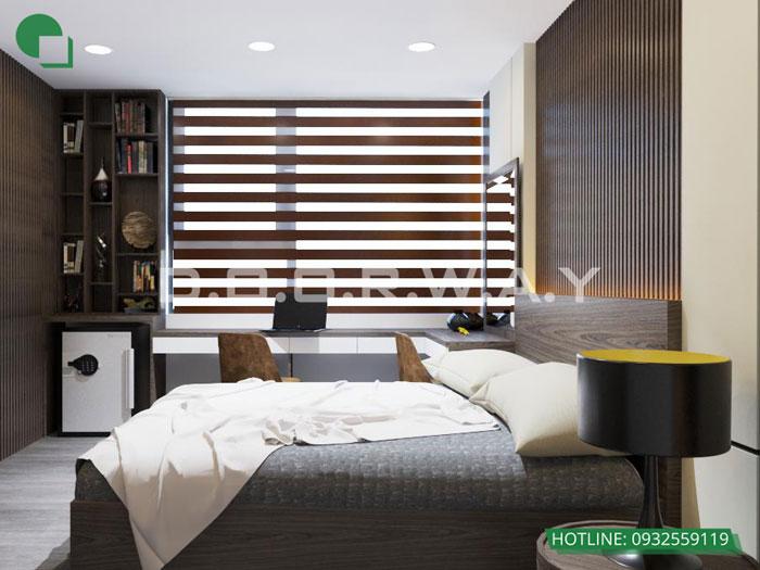 PN1(2)- [Full] Thiết kế nội thất căn hộ 98m2 Eco Dream - a Thượng