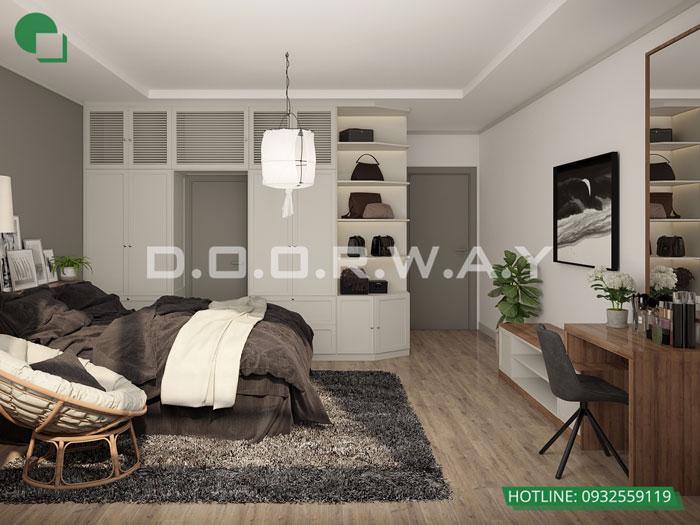 PN1(2)- [Xem ngay] Thiết kế nội thất chung cư The Zen Residence Gamuda