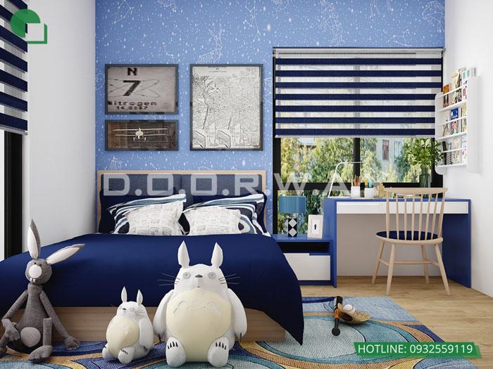 PN2(1)- Nội thất căn 2 phòng ngủ The Zen Residence năm 2019 - 2020