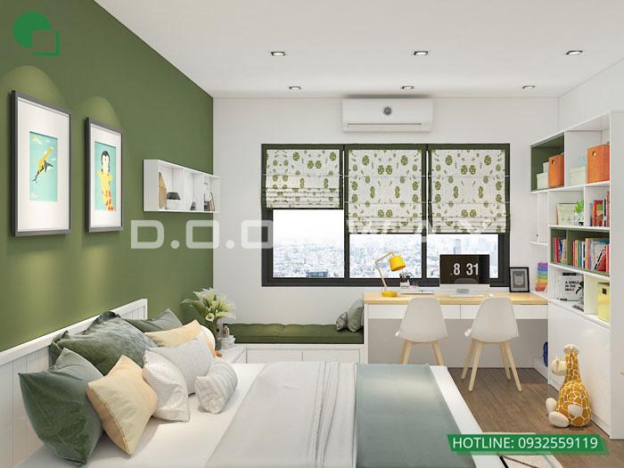 PN2(2)- Ngắm thiết kế nội thất căn hộ 151m2 Stellar Garden