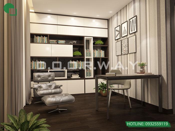 PN2(2)- Cách bố trí và mẫu nội thất căn hộ Penthouse The Zen Residence