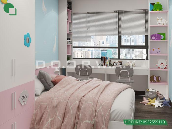 PN3(2)- Thiết kế nội thất căn 3 phòng ngủ Bohemia Residence tiện nghi mà đẹp