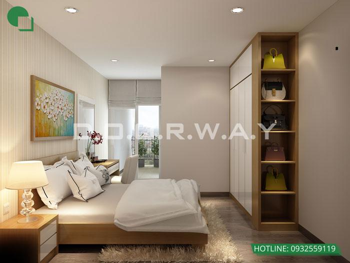 PN3(2)- Cách bố trí và mẫu nội thất căn hộ Penthouse The Zen Residence
