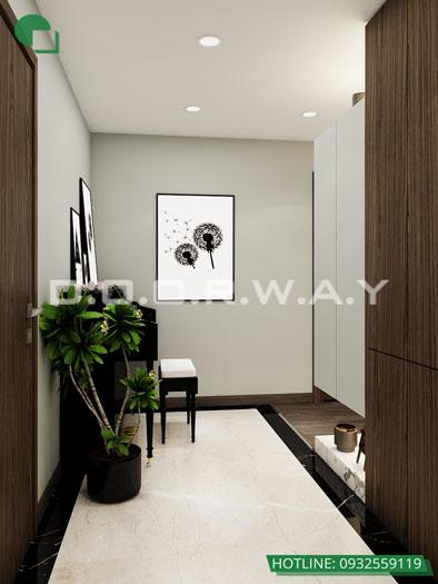 Sanh(1)- [Full] Thiết kế nội thất căn hộ 98m2 Eco Dream - a Thượng