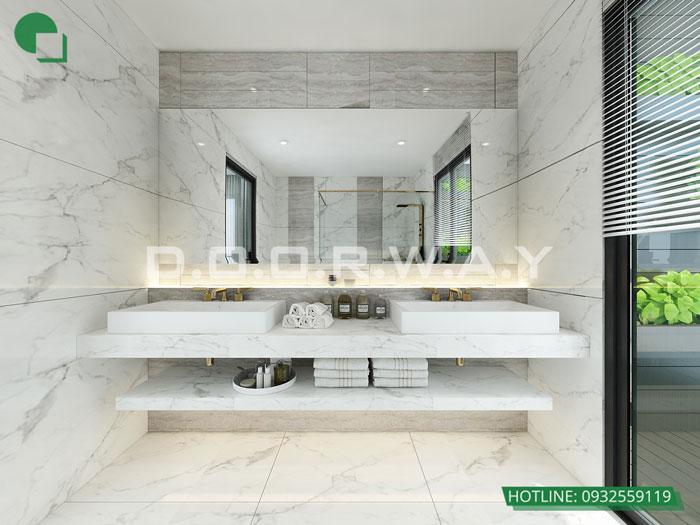 WC(1)- Nội thất căn 2 phòng ngủ The Zen Residence năm 2019 - 2020