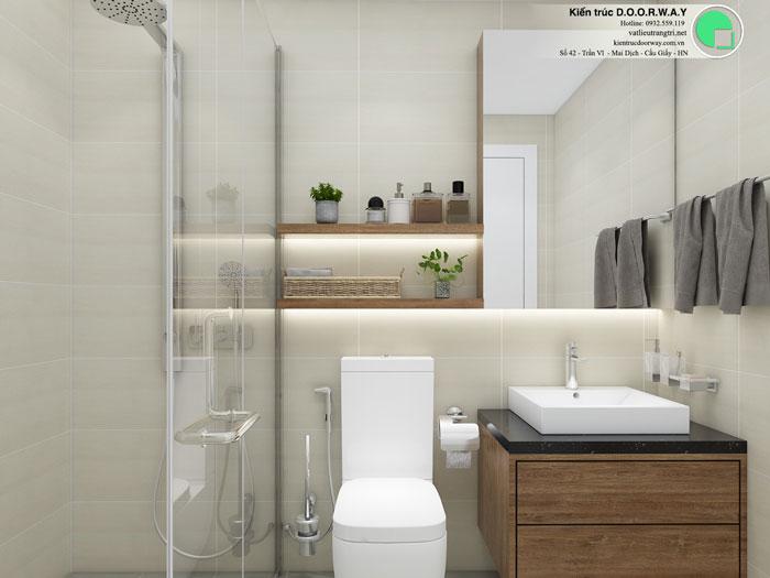 WC(1)- Thiết kế nội thất căn 3 phòng ngủ Bohemia Residence tiện nghi mà đẹp