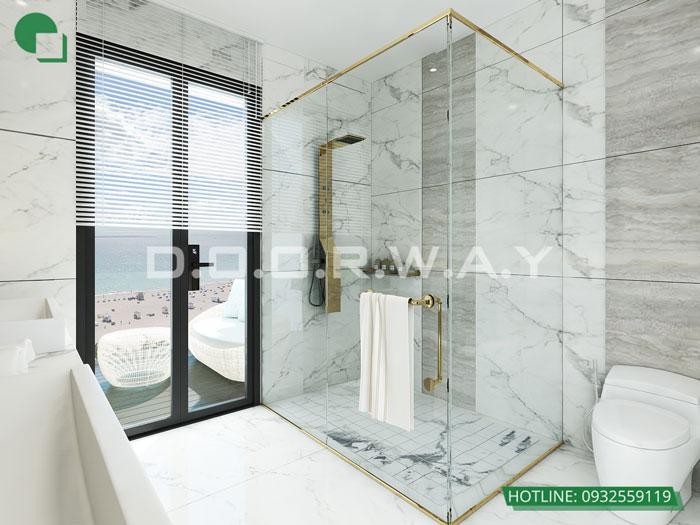 WC(2)- Nội thất căn 2 phòng ngủ The Zen Residence năm 2019 - 2020