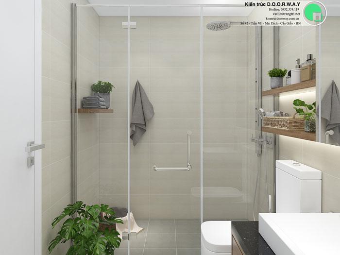 WC(2)- Thiết kế nội thất căn 3 phòng ngủ Bohemia Residence tiện nghi mà đẹp