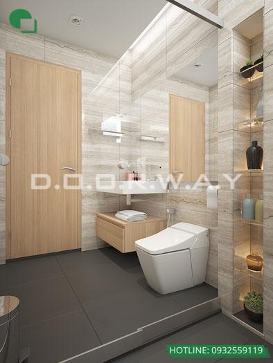 WC(2)- Mẫu nội thất căn 4 phòng ngủ The Sun Mễ Trì - Căn hộ 116m2