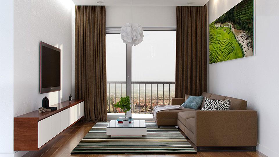 Thiết kế nội thất chung cư tối giản theo phong cách Nhật Bản