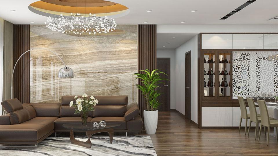 ảnh tiêu biểu - thiết kế phòng khách và bếp chung cho nhà nhỏ