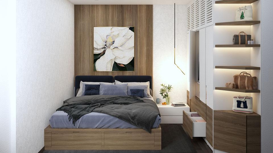 ảnh tiêu biểu - thiết kế phòng ngủ thông minh