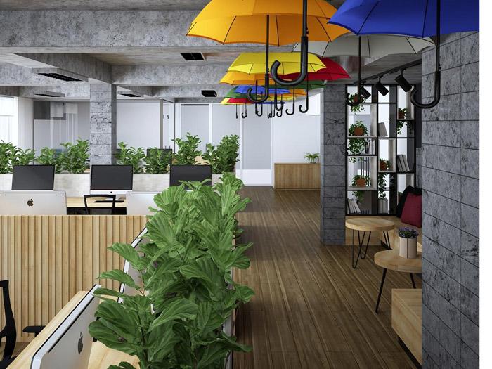 Những mẫu thiết kế văn phòng nhỏ hiện đại và ấn tượng
