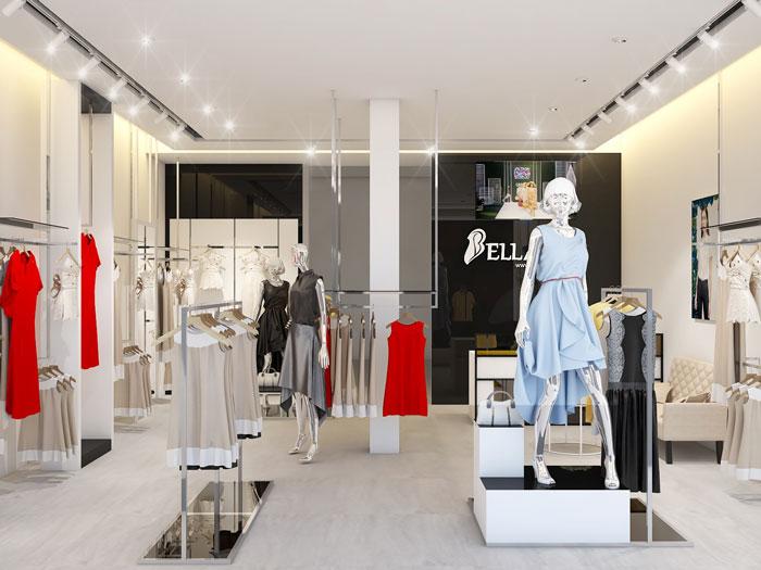 4- Làm thế nào để thiết kế nội thất showroom cửa hàng đẹp
