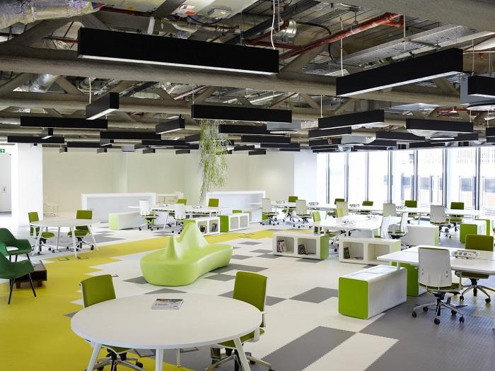 (1)Xu hướng thiết kế nội thất văn phòng cao cấp mới nhất