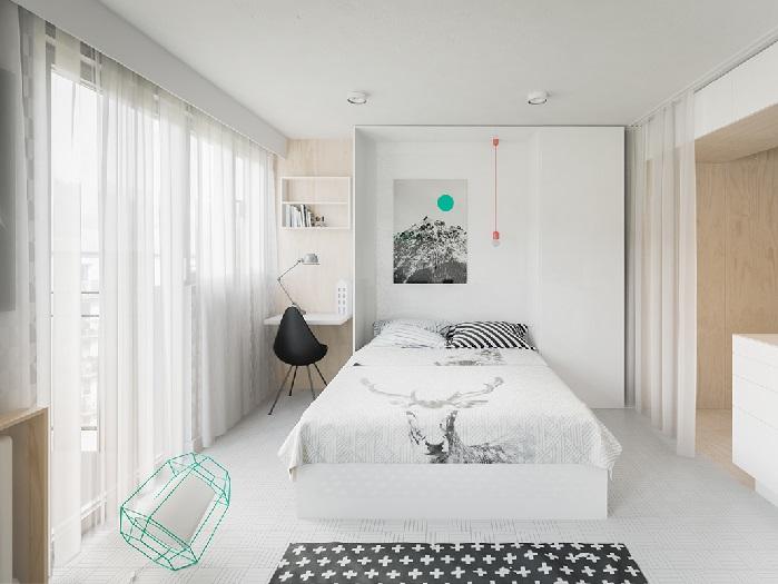 (10)Chiêm ngưỡng chi tiết 3 thiết kế căn hộ cho người nước ngoài thuê