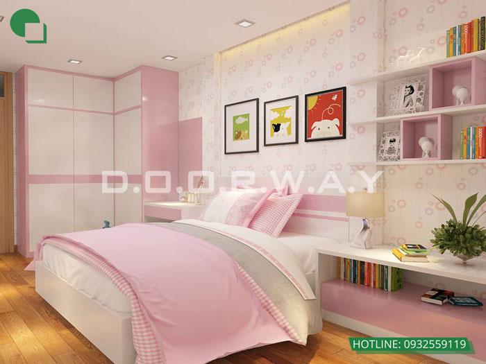 13- Ghim ngay 7 mẫu nội thất phòng ngủ đẹp cho bé gái
