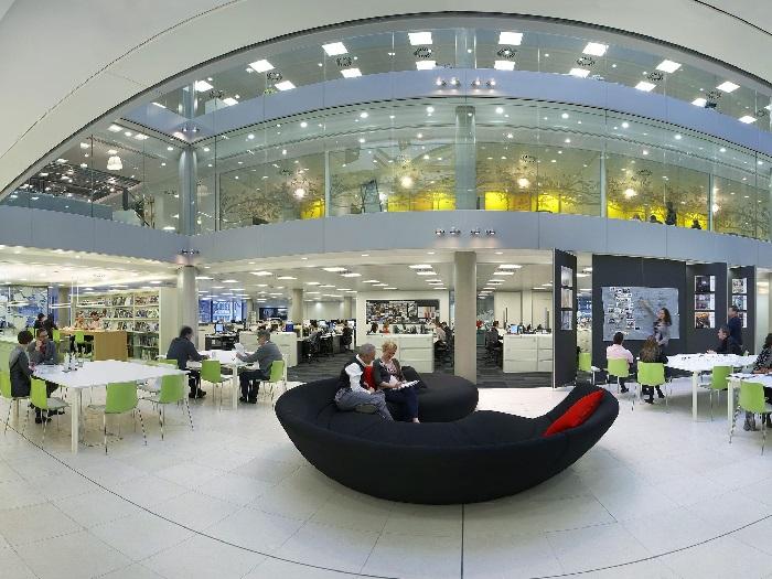 (2)Xu hướng thiết kế nội thất văn phòng cao cấp mới nhất